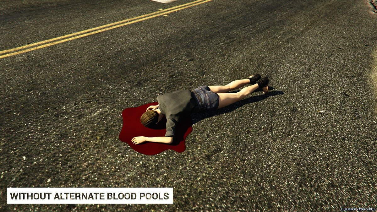 Alternate Blood Pools 1.0 для GTA 5 - скриншот #5