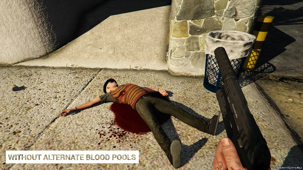Alternate Blood Pools 1.0 для GTA 5 - скриншот #6