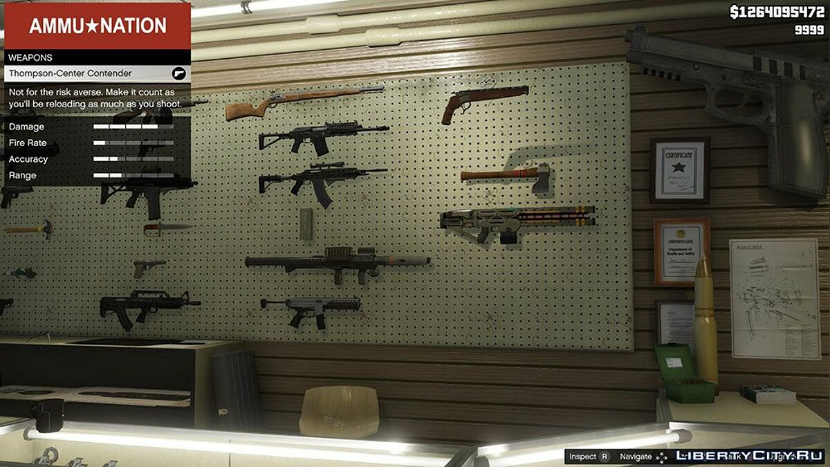 Мод Real Weapon Names v3.0 для GTA 5