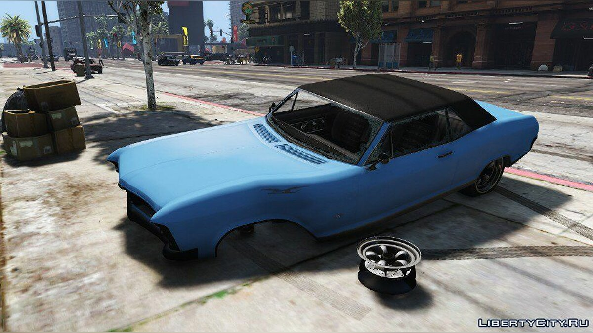 Мод Realistic Car Damage 1.1.0 для GTA 5