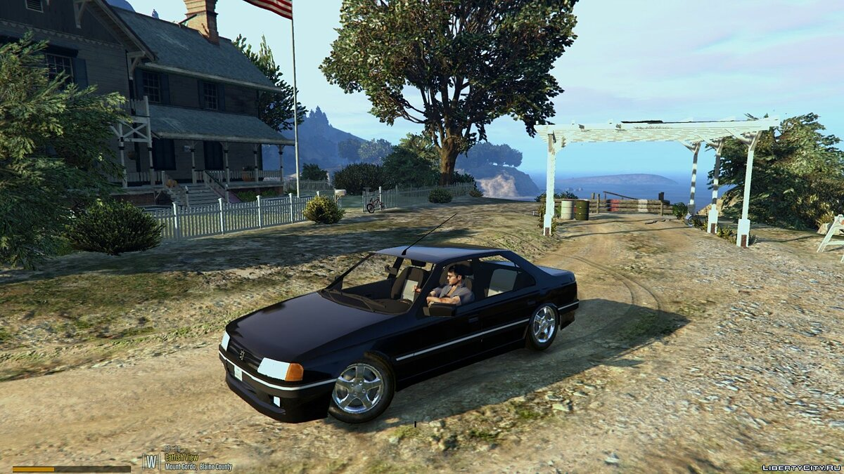 ��ашина Peugeot Peugeot 405 [Add-On / Replace] 1.0 для GTA 5