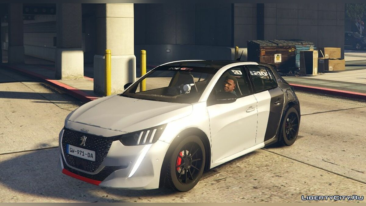 Машина Peugeot Peugeot 208 GTI 2021 (Add-on/Replace) 2.1 для GTA 5