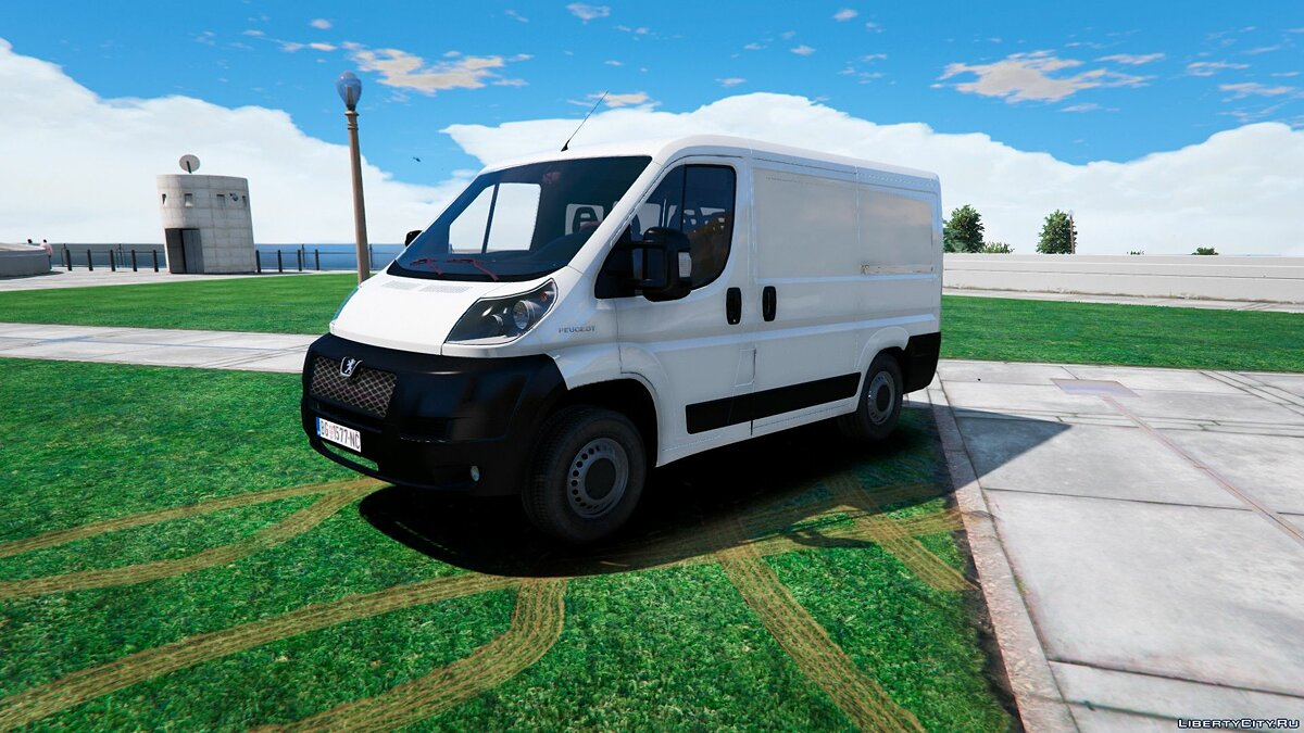 Машина Peugeot Peugeot Boxer Panel Van [UNLOCK | REPLACE] 1.0 для GTA 5