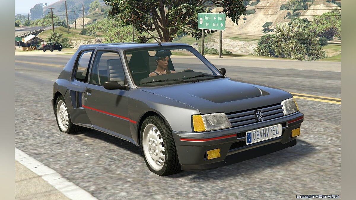 Peugeot 205 Turbo 16 & Rally (2in1) [Add-On | Tuning | Livery] 1.0 для GTA 5 - скриншот #2