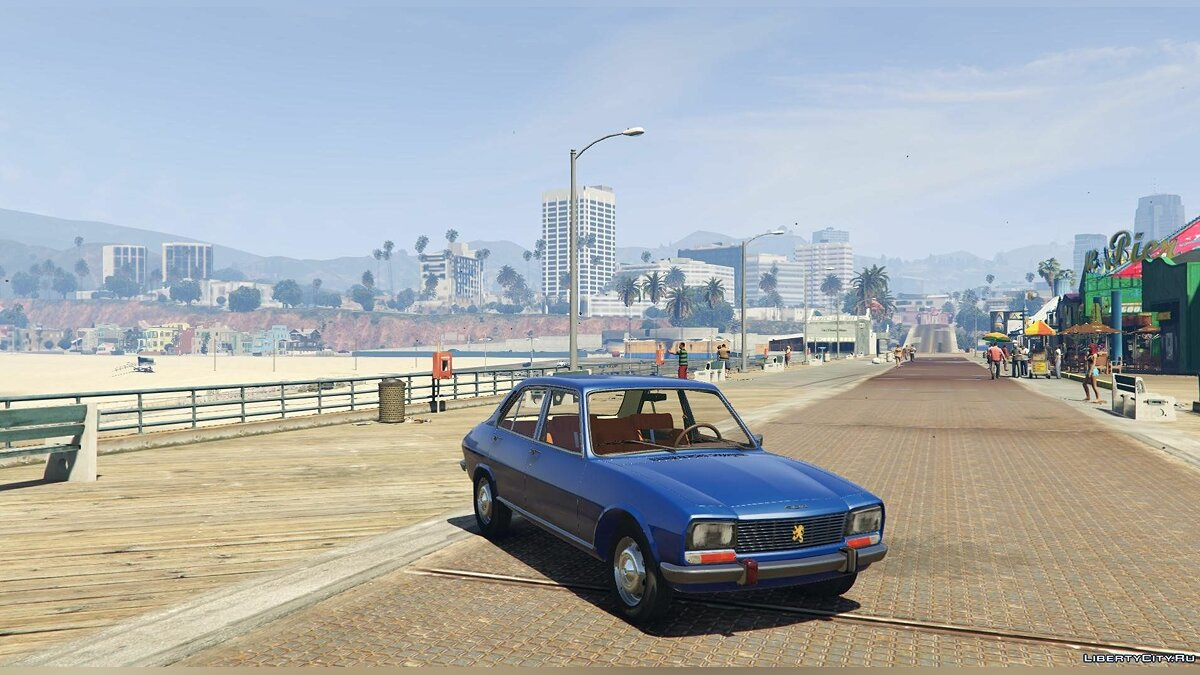 ��ашина Peugeot Peugeot 504 Injection (1.8) Berlina A02 '68 [Add-On / Replace] 1.0 для GTA 5
