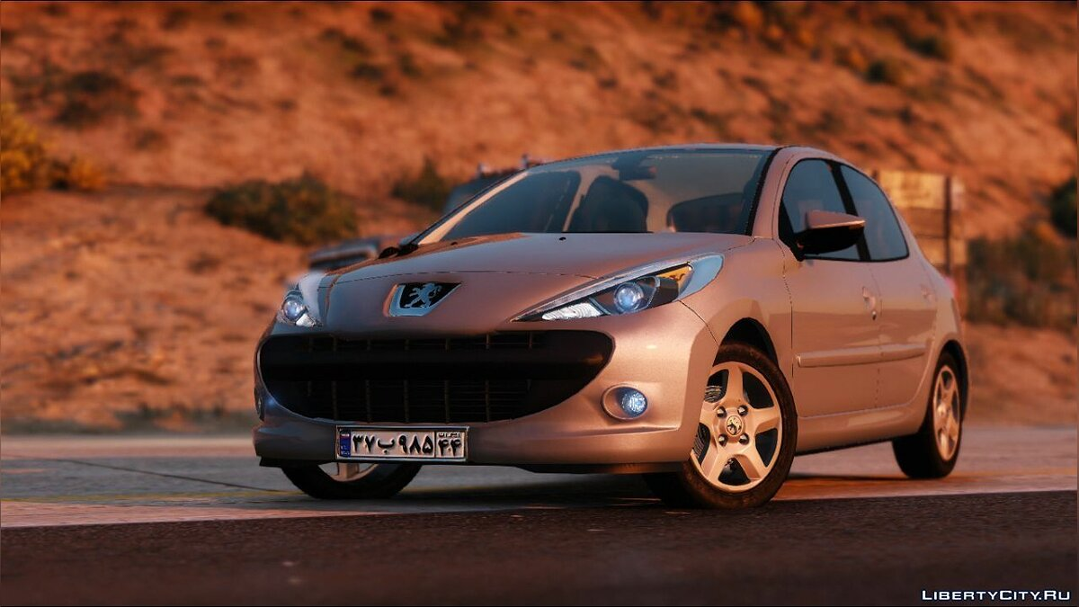 Машина Peugeot Peugeot 207i (Hb) new face [replace] 1.0 для GTA 5