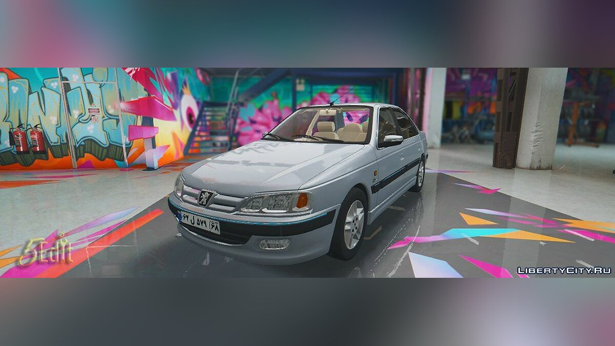 ��ашина Peugeot IKCO Pars 1394 [Replace | Wipers] 1.0 для GTA 5