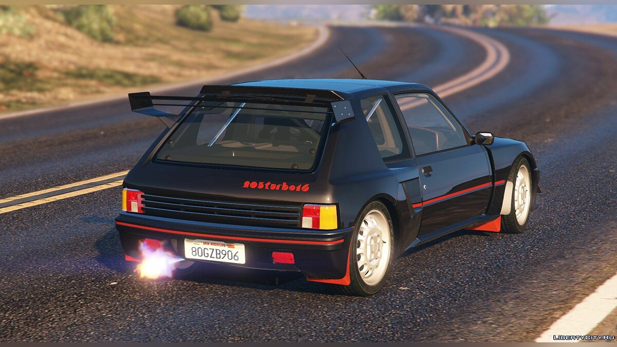 ��ашина Peugeot Peugeot 205 Turbo 16 (2 Cars Pack) [Add-On | Tuning | Livery] 1.3 для GTA 5
