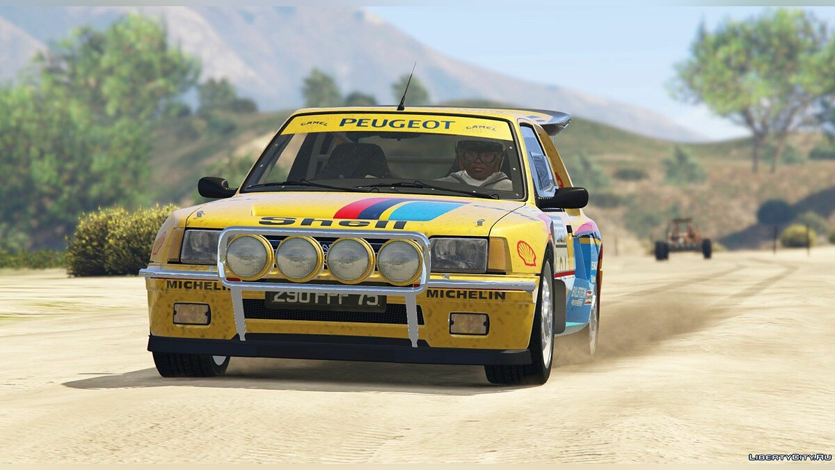 Peugeot 205 Turbo 16 (2 Cars Pack) [Add-On | Tuning | Livery] 1.3 для GTA 5 - скриншот #7