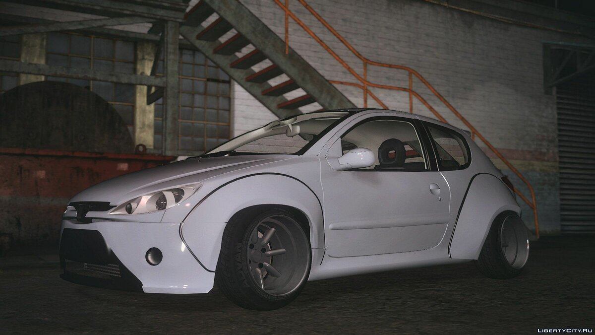 Peugeot 206 lopi bodykit [Add-On / Replace] 1.2 для GTA 5