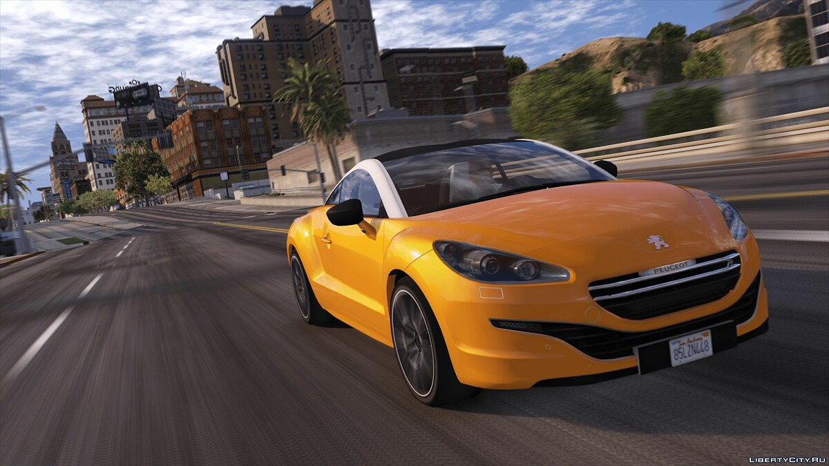 Машина Peugeot Peugeot RCZ R 2016 (Add-on/Replace) 1.0 для GTA 5