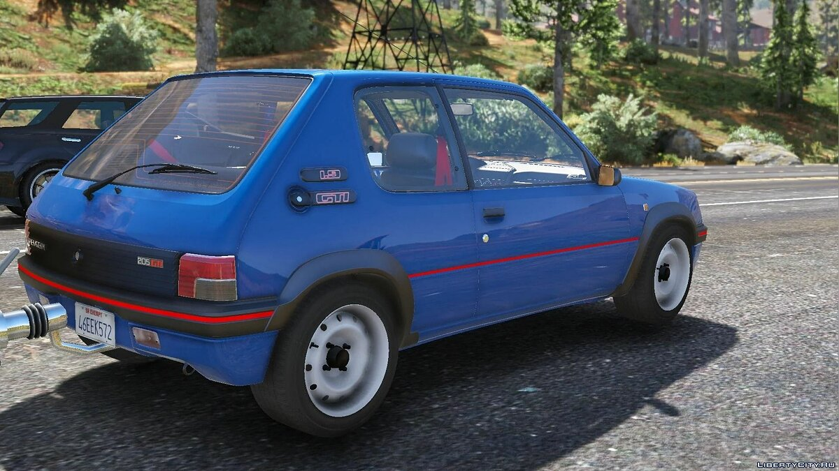 Машина Peugeot 1991 Peugeot 205 Rallye [Add-On | Extras | Tuning] 1.0 для GTA 5