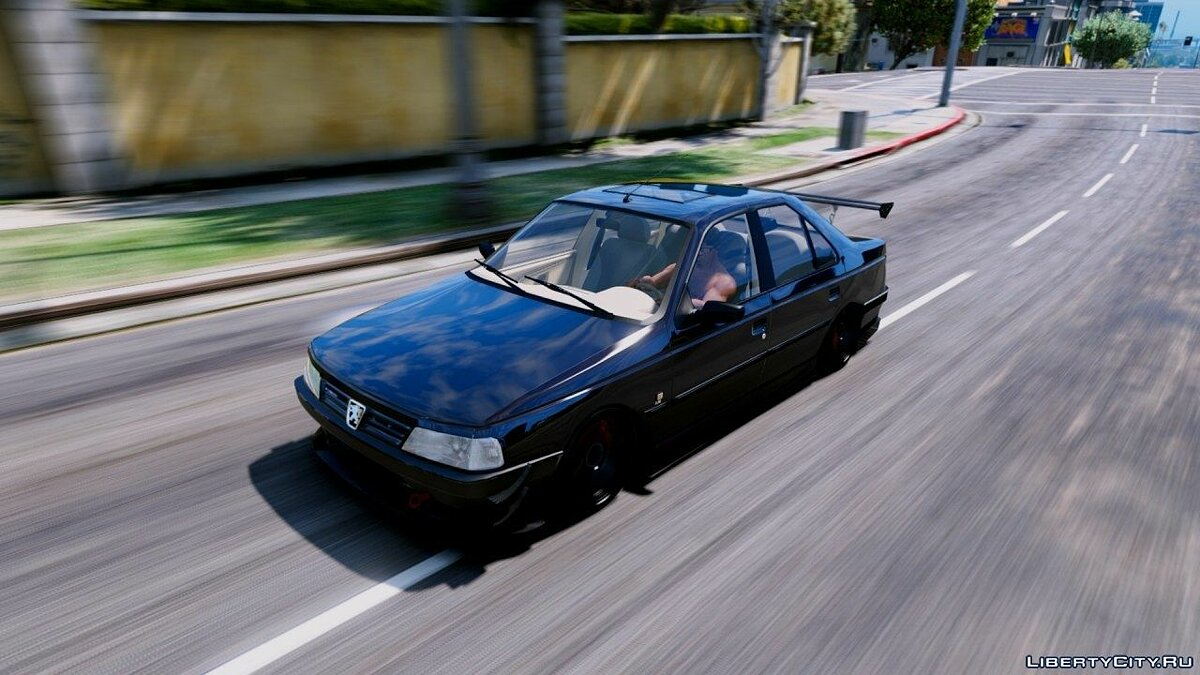 Машина Peugeot Peugeot 405 GLX [add on/oiv/tuning/anmited] 0.1 для GTA 5