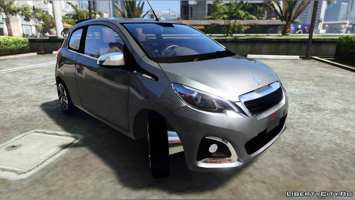 ��ашина Peugeot Peugeot 108 (Add-on / Replace) 1.0 для GTA 5