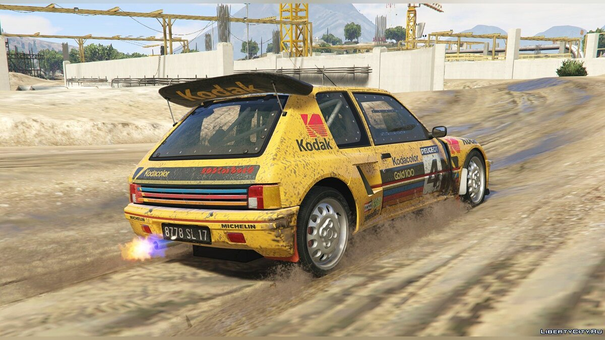 Peugeot 205 Turbo 16 & Rally (2in1) [Add-On | Tuning | Livery] 1.1 для GTA 5 - скриншот #3