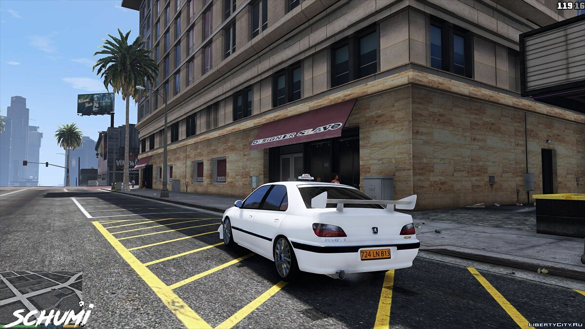 Машина Peugeot Peugeot 406 (Taxi and Taxi2) [Add-on] 1.0 для GTA 5