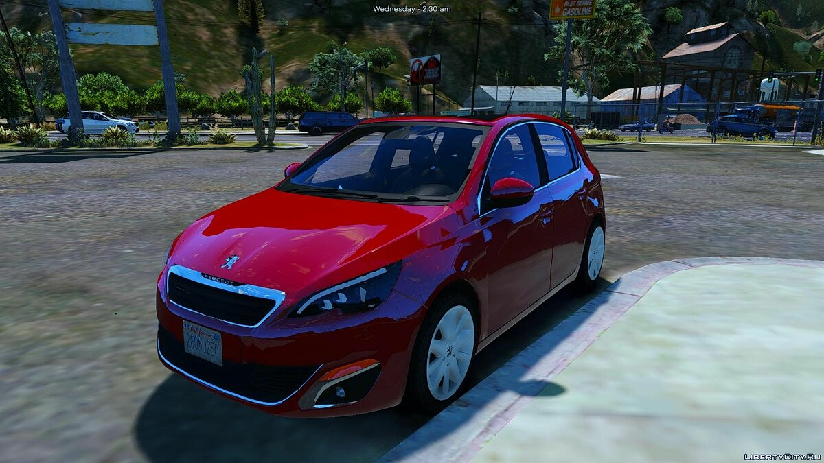 ��ашина Peugeot Peugeot 308 [Add-On / Replace] 1.1 для GTA 5
