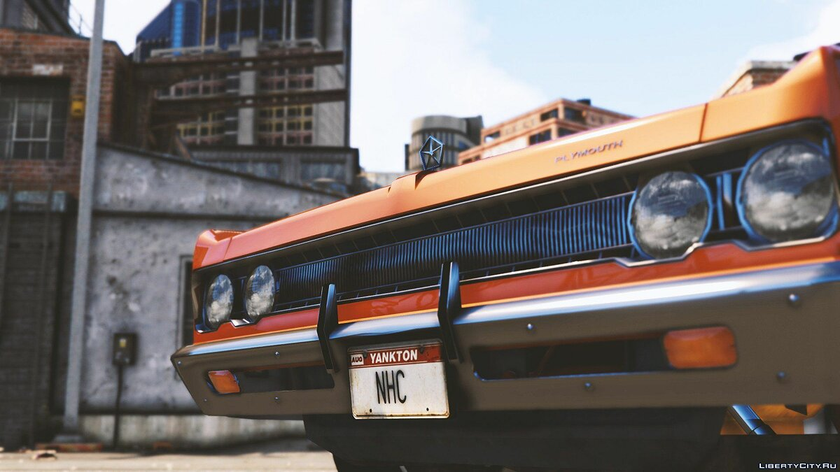 Машина Plymouth Plymouth Fury III '69 [Add-On] 1.0 для GTA 5