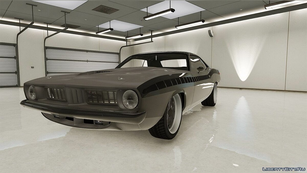 ��ашина Plymouth Plymouth Barracuda - Fast 7 [Add-On / Replace] 1.2.1 для GTA 5