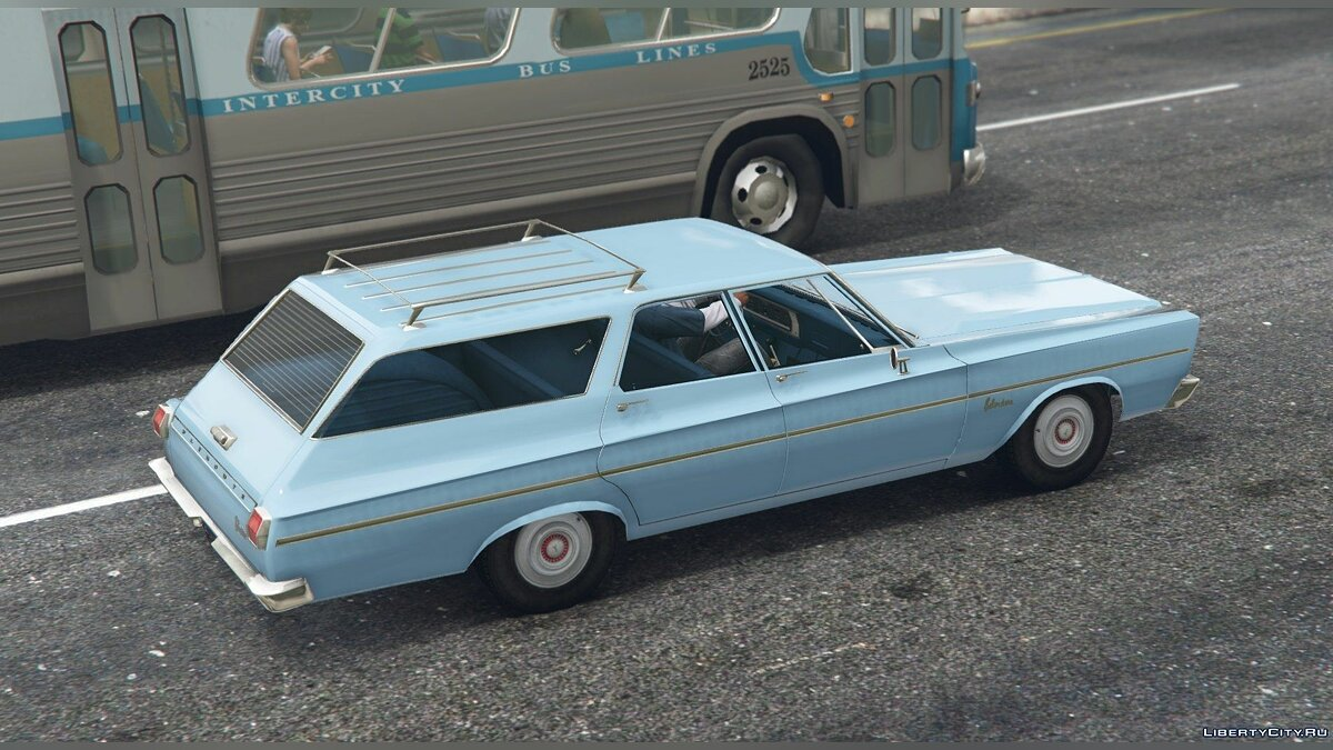 1965 Plymouth Belvedere I Wagon [Add-On / Replace] 1.0 для GTA 5 - скриншот #2