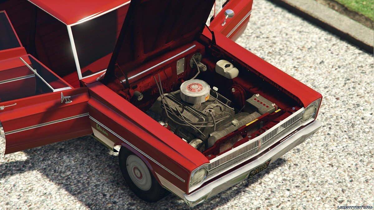 1965 Plymouth Belvedere I Wagon [Add-On / Replace] 1.0 для GTA 5 - скриншот #3