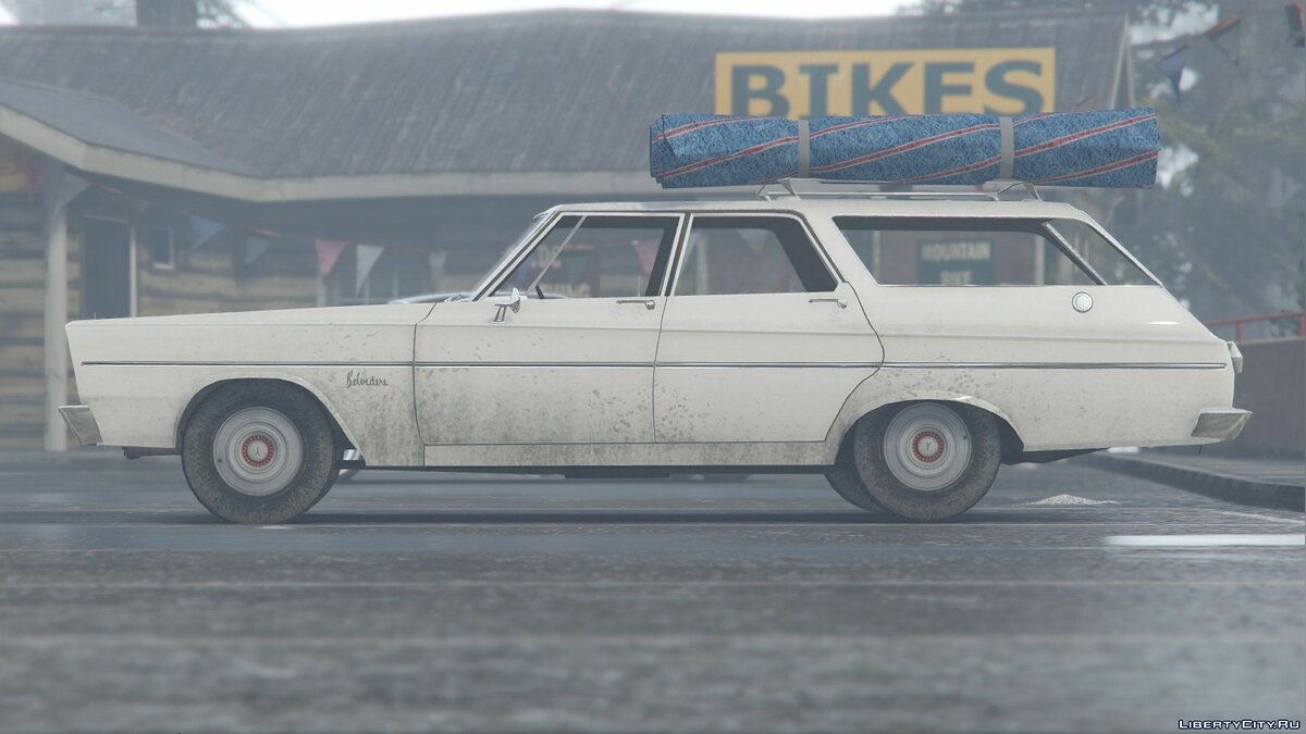 1965 Plymouth Belvedere I Wagon [Add-On / Replace] 1.0 для GTA 5 - скриншот #4
