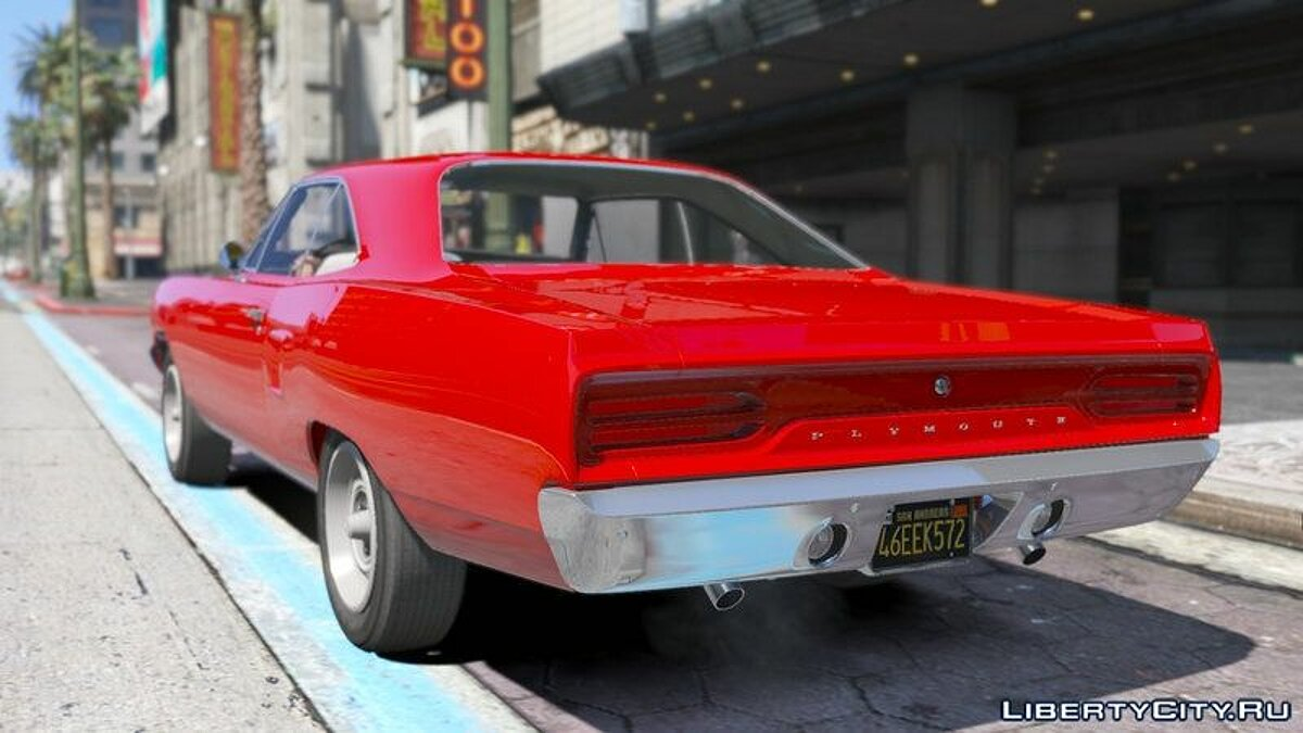 Plymouth Road Runner 1970 для GTA 5 - скриншот #2