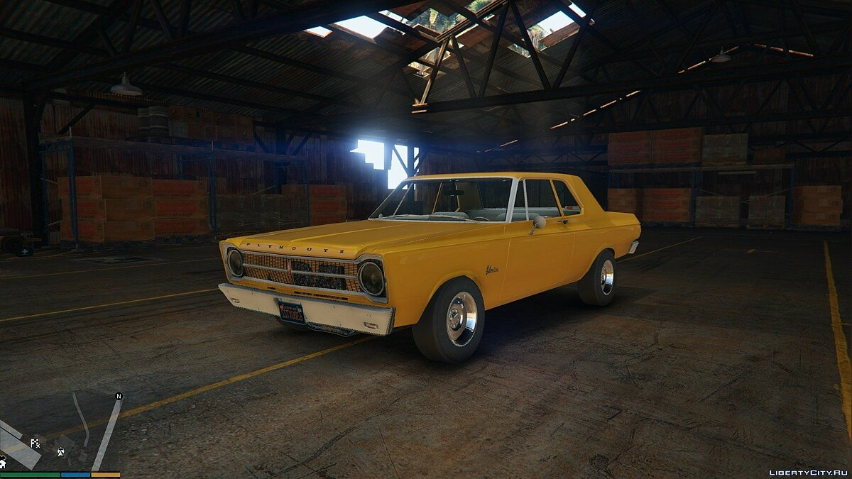 1965 Plymouth Belvedere 2-Door Sedan для GTA 5