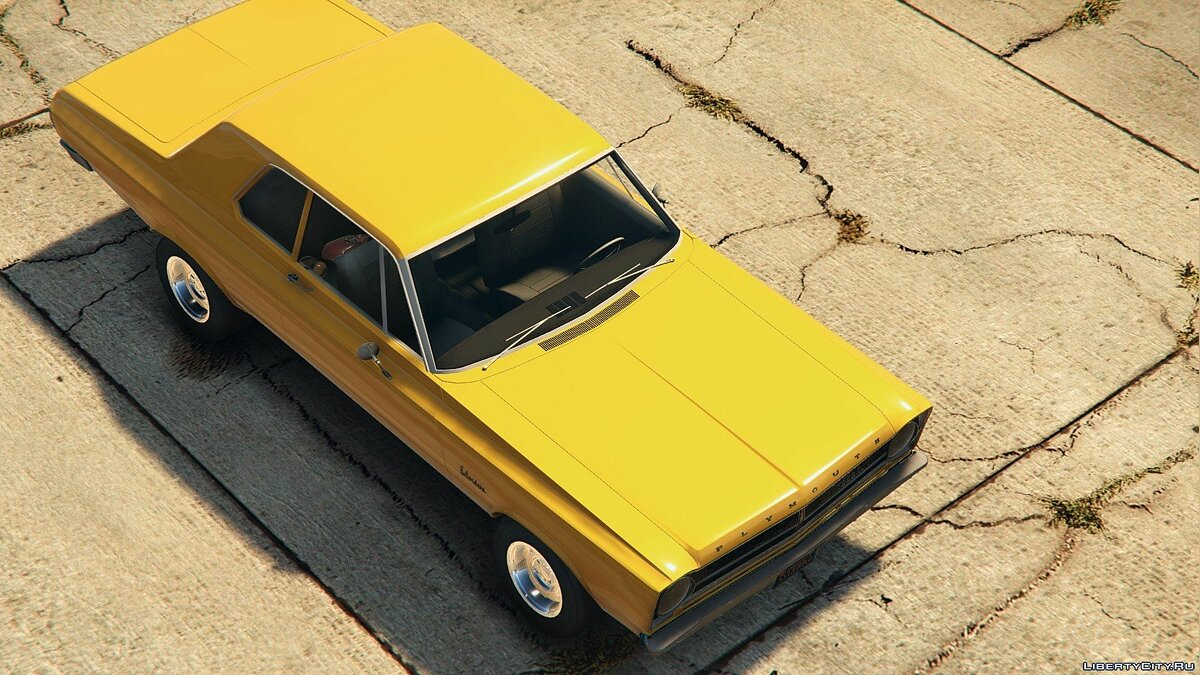 1965 Plymouth Belvedere 2-Door Sedan для GTA 5 - скриншот #4
