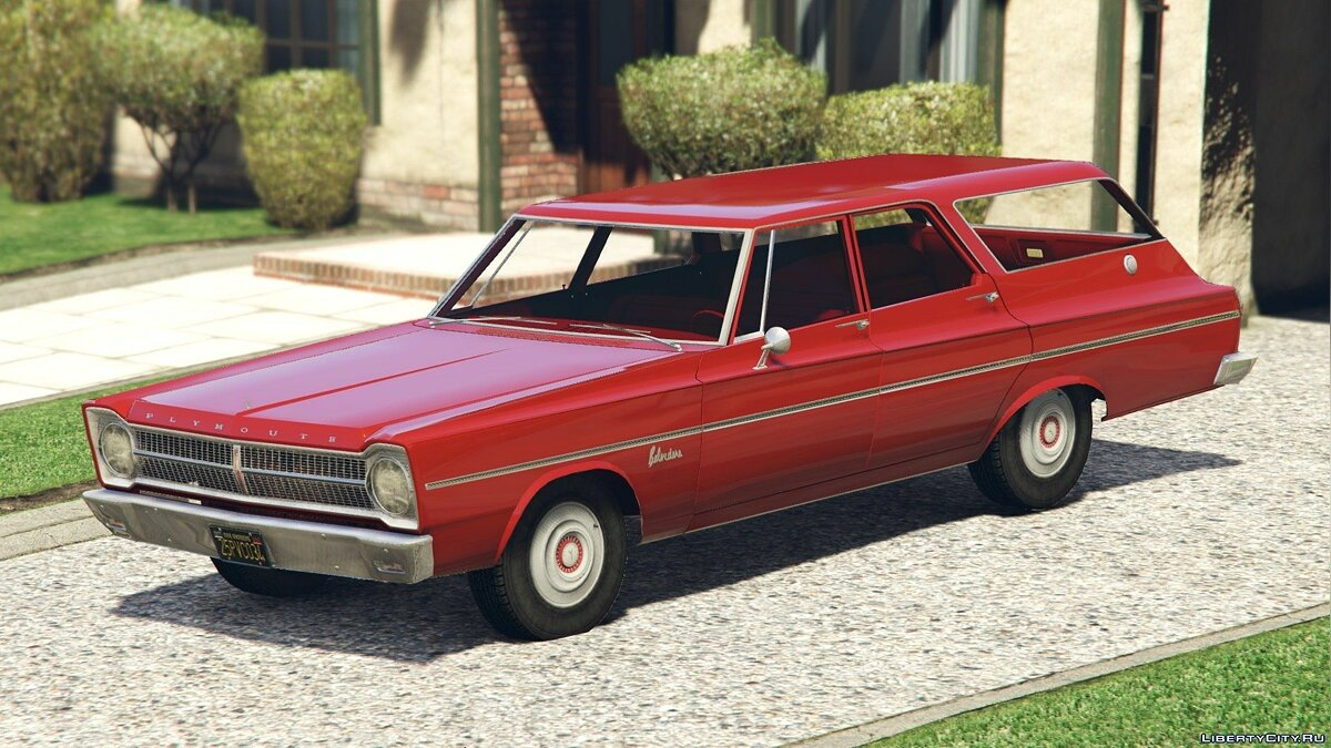 ��ашина Plymouth 1965 Plymouth Belvedere I Wagon [Add-On / Replace] 1.2 для GTA 5