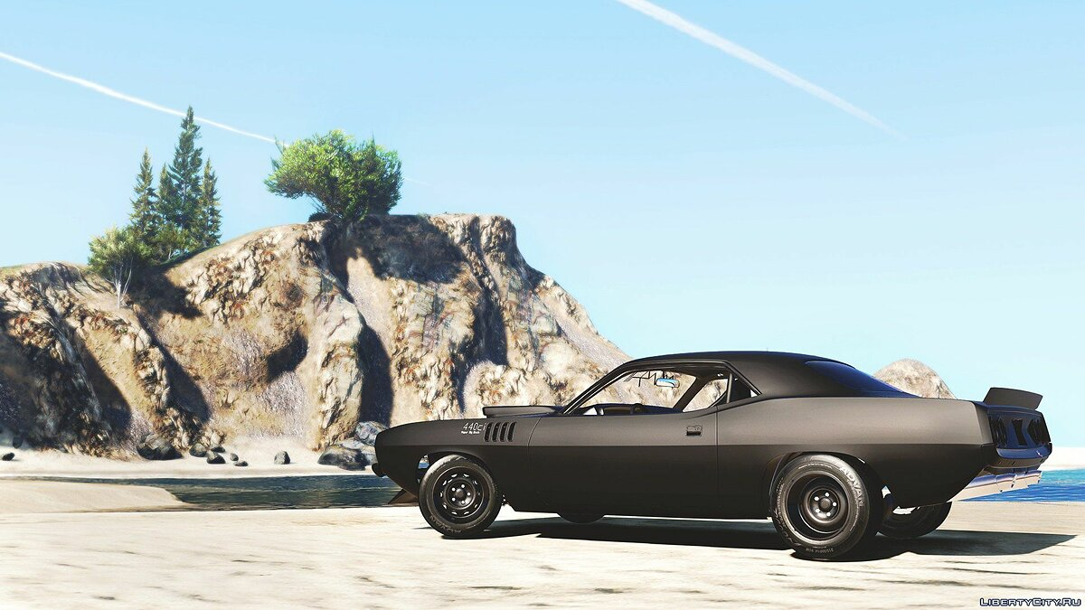 ��ашина Plymouth Plymouth 'Kuda BeckKustoms 1.0 для GTA 5
