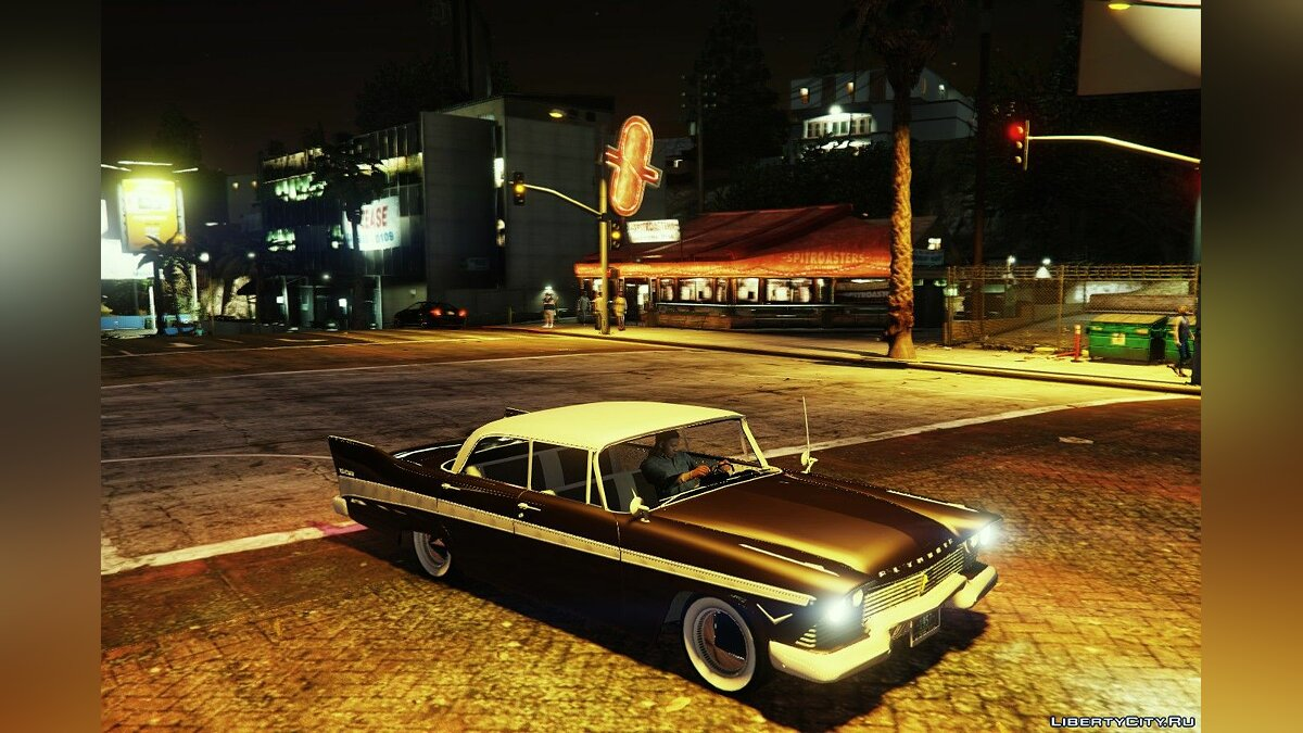 Машина Plymouth Plymouth Belvedere 4dr sedan 1957 v0.2 для GTA 5