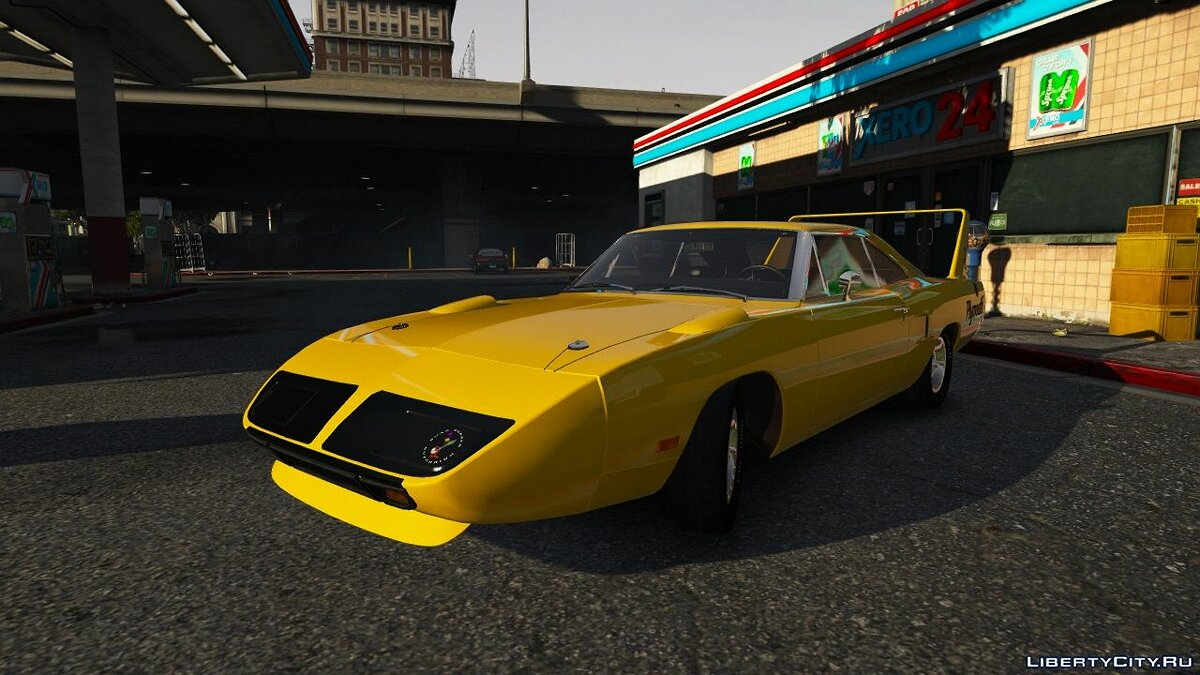 Машина Plymouth Plymouth Roadrunner Superbird (RM23) '1970 [Add-On | Tuning] для GTA 5