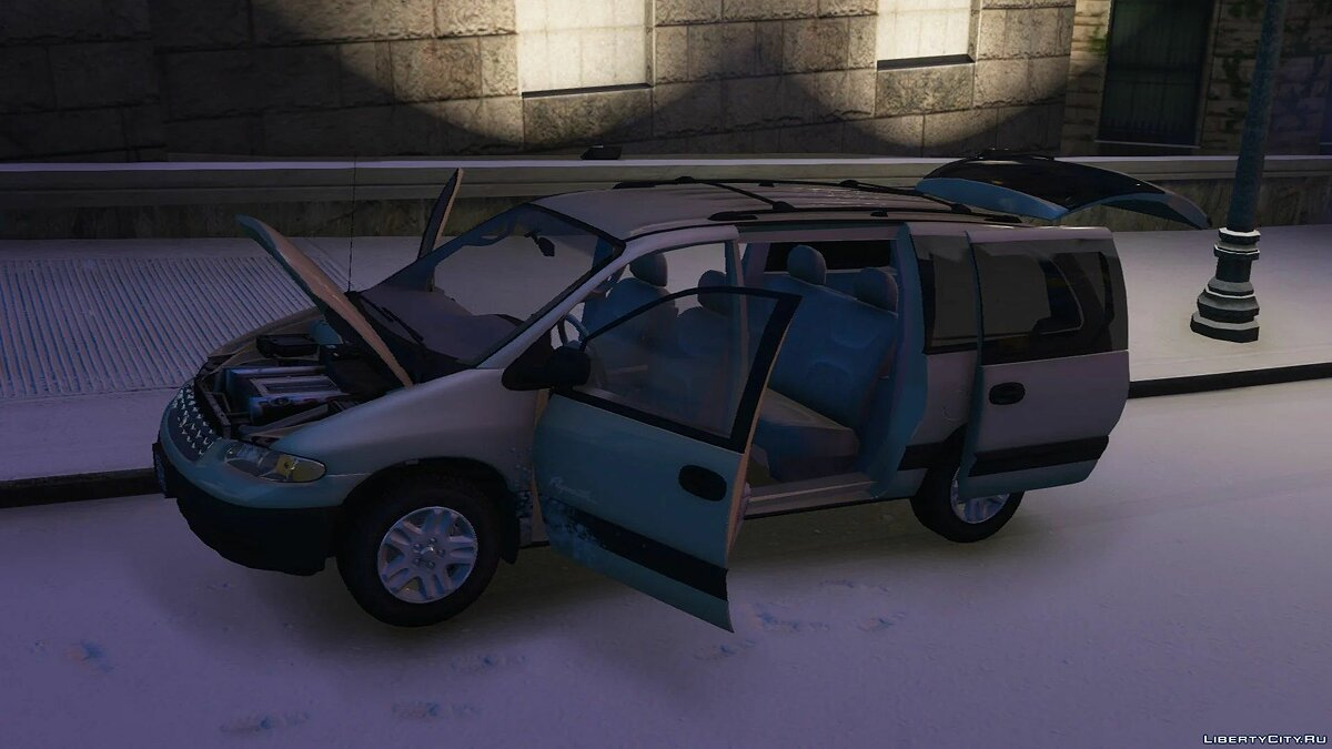 Машина Plymouth 1996 Plymouth Voyager [Add-On] 1.0 для GTA 5