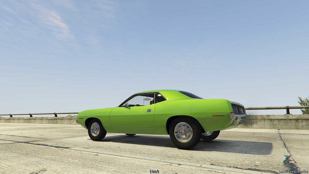 ��ашина Plymouth 1970 Plymouth Barracuda 1.0 для GTA 5