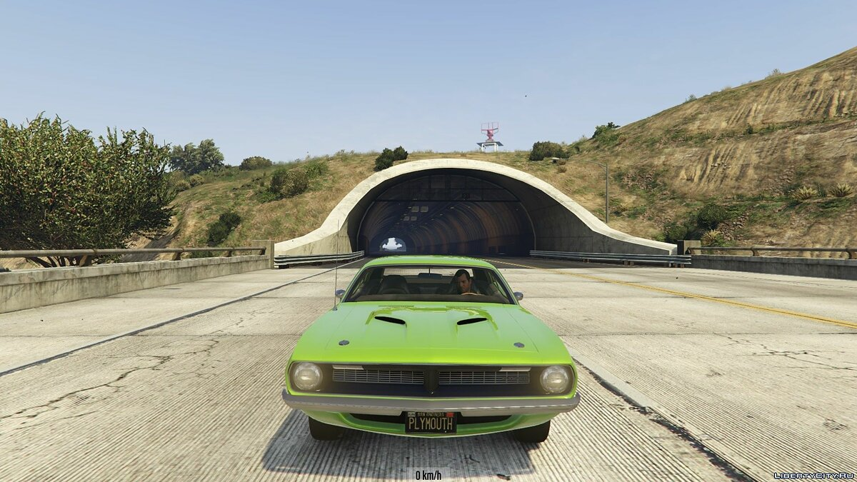 1970 Plymouth Barracuda 1.0 для GTA 5 - скриншот #6