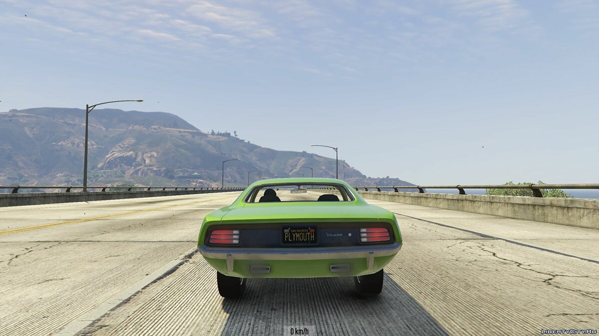 1970 Plymouth Barracuda 1.0 для GTA 5 - скриншот #7