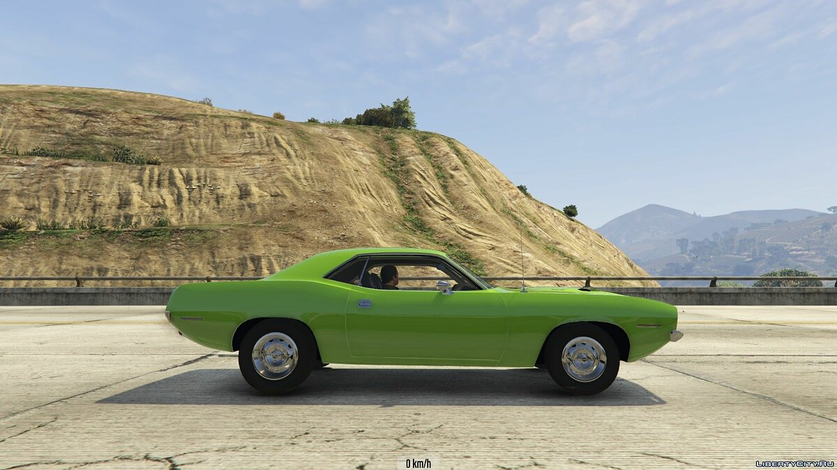 1970 Plymouth Barracuda 1.0 для GTA 5 - скриншот #8