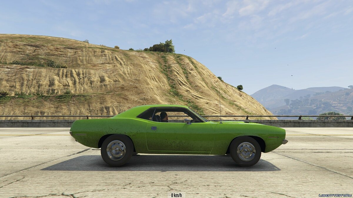 1970 Plymouth Barracuda 1.0 для GTA 5 - скриншот #10
