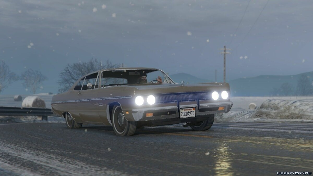 1969 Plymouth Fury III Coupe для GTA 5 - скриншот #2