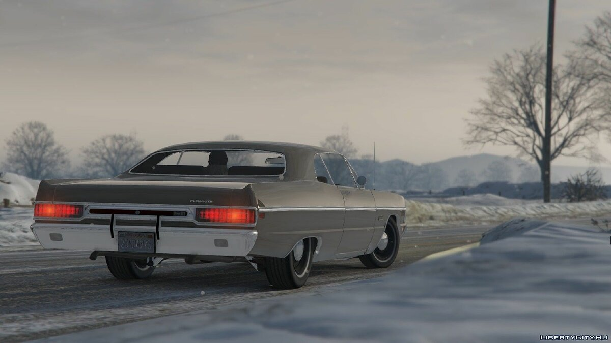 1969 Plymouth Fury III Coupe для GTA 5 - скриншот #3
