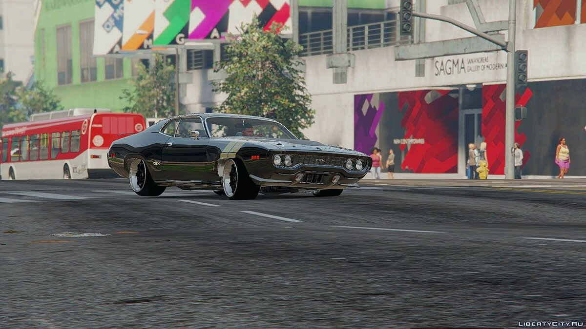 ��ашина Plymouth The Fate of the Furious Plymouth GTX 1.1 для GTA 5