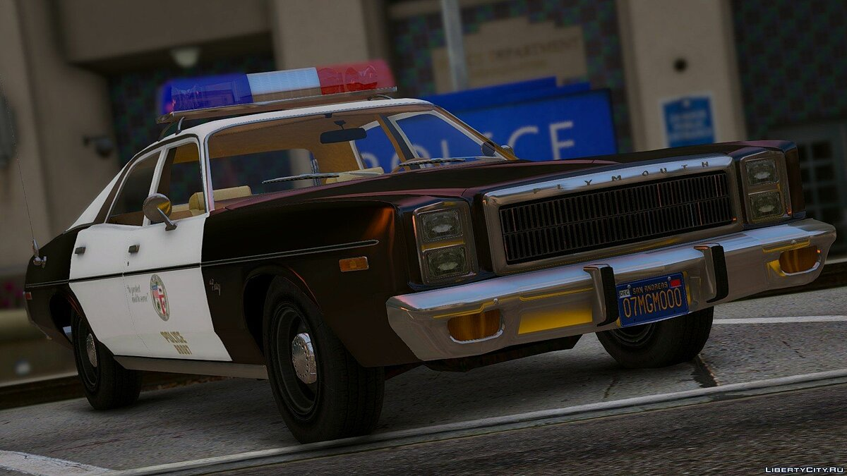 1978 Plymouth Fury Police 1.0 для GTA 5