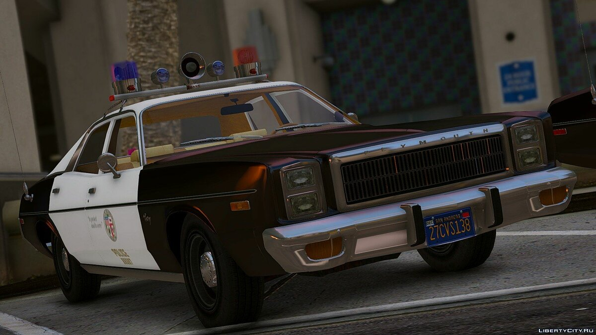 1978 Plymouth Fury Police 1.0 для GTA 5 - скриншот #2