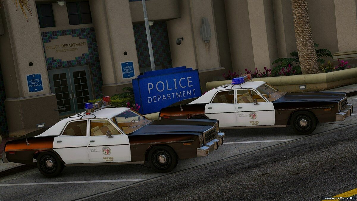 1978 Plymouth Fury Police 1.0 для GTA 5 - скриншот #3