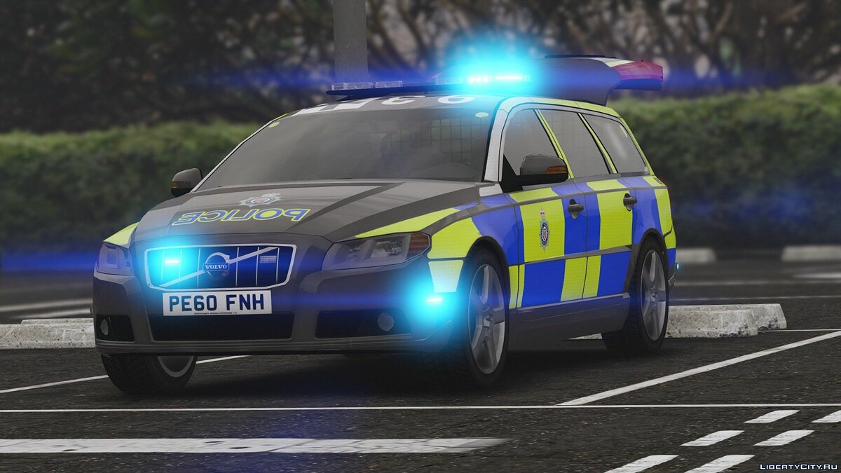 2010 Volvo V70 British Transport Police ARV [ELS] 1.0 для GTA 5