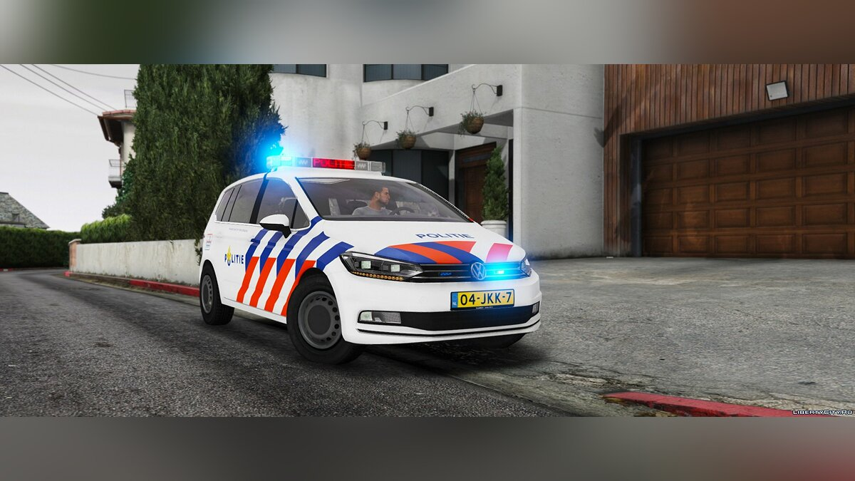 Volkswagen Touran Dutch Police [ELS] 0.2 [BETA] для GTA 5