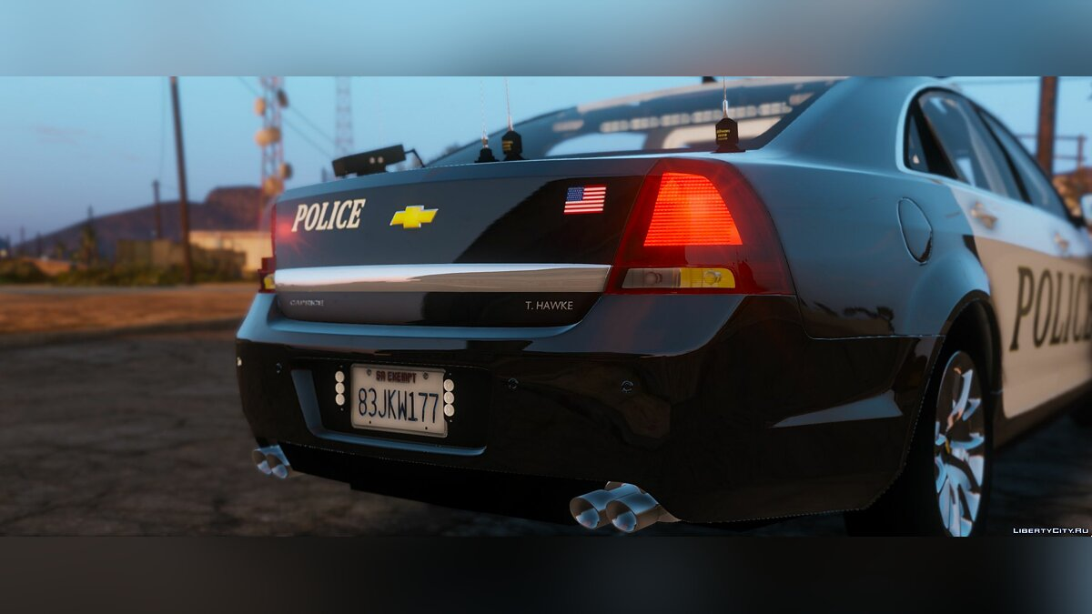 Chevrolet Caprice Police epic lights [ELS] 1.1 для GTA 5 - скриншот #4