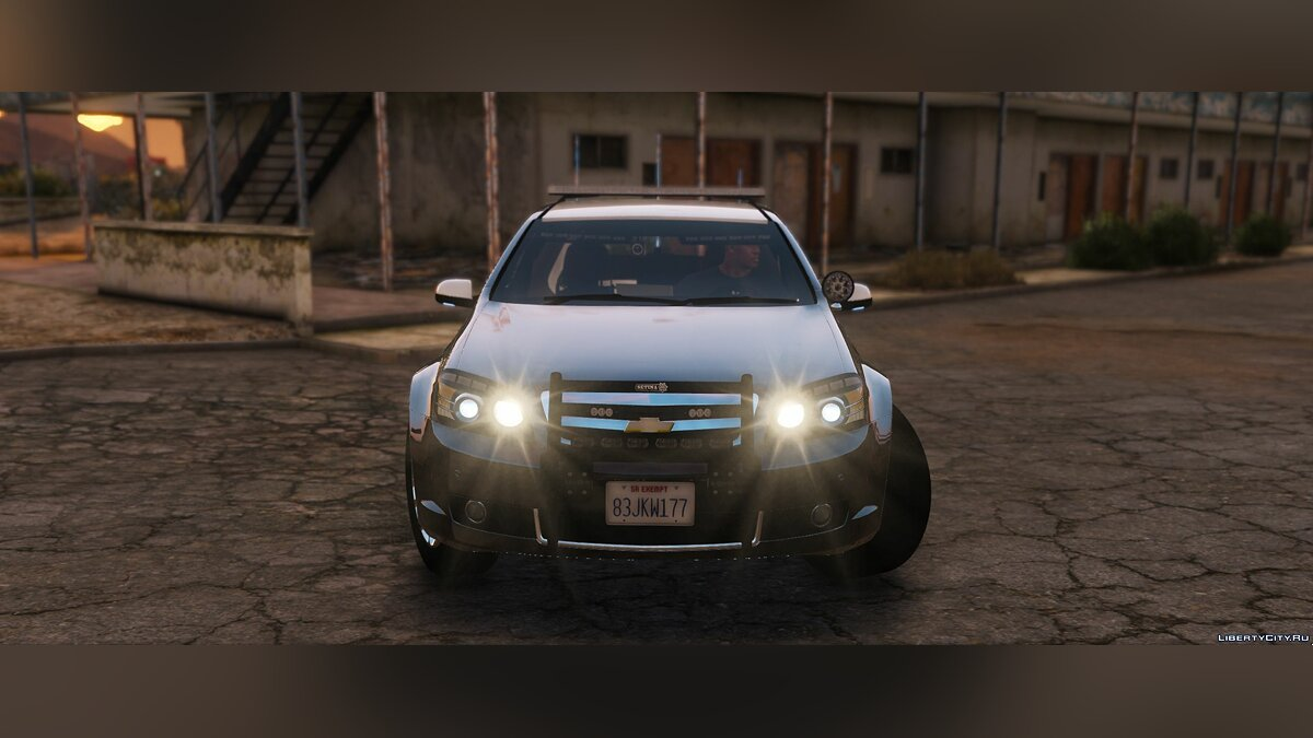 Chevrolet Caprice Police epic lights [ELS] 1.1 для GTA 5 - скриншот #5