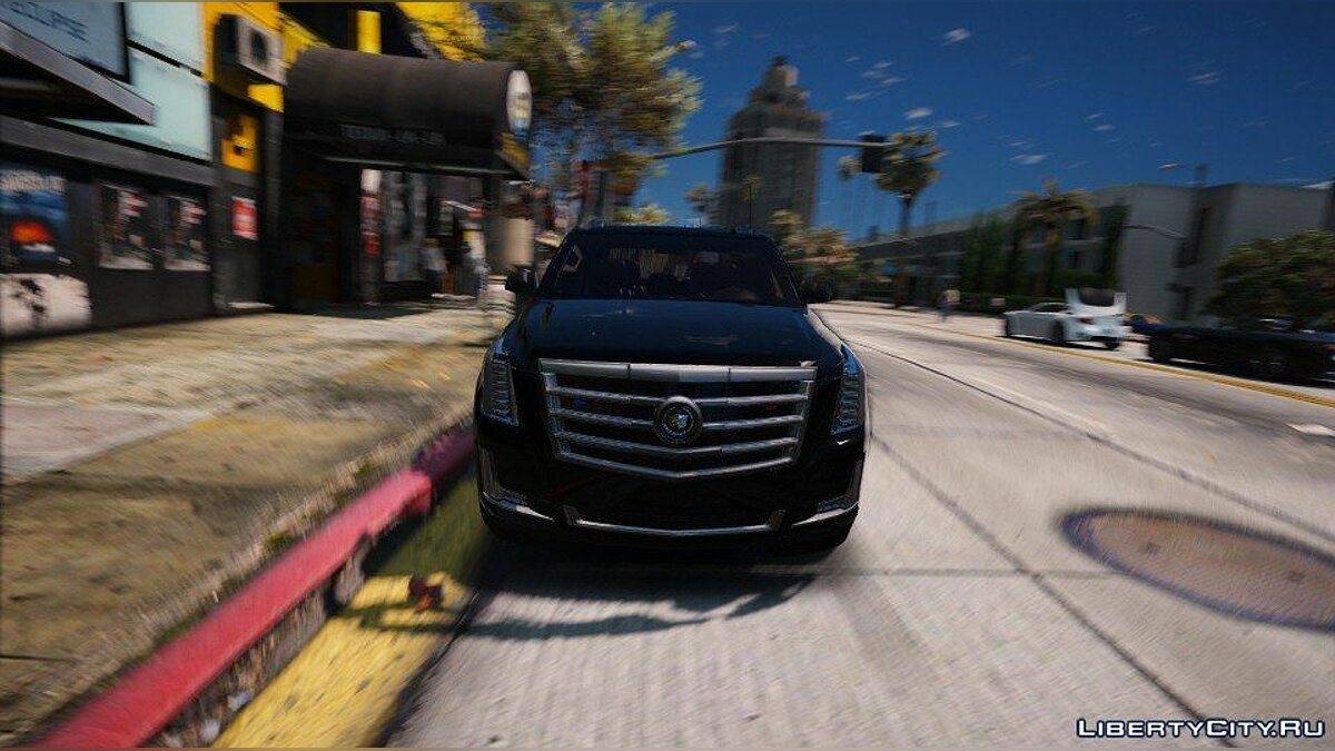 Cadillac Escalade FBI Patrol Vehicle 2015 [Add-On] для GTA 5